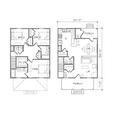 house plan four square ii prairie floor plan tightlines designs