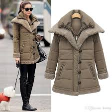 Warm Winter Coats For Women 2017 Womens Winter Thicken Warm Fashion Military Jackets And Down