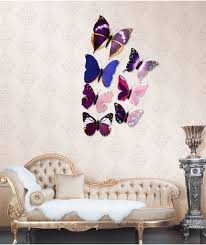 Butterfly Office Decor Generic Diy 12pcs 3d Butterfly Wall Decor Stickers For Living Room