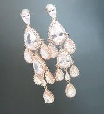 wedding earrings chandelier gold bridal earrings chandelier edrex co