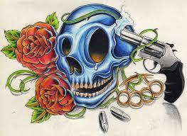 skull gun by willemxsm on deviantart