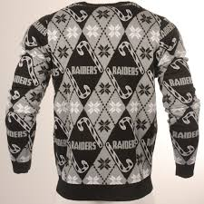 raiders christmas sweater with lights nfl rudolph the red nosed raider oakland raiders christmas