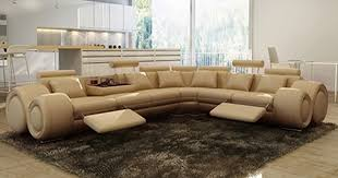 canap cuir beige deco in canape d angle cuir beige relax oslo angle