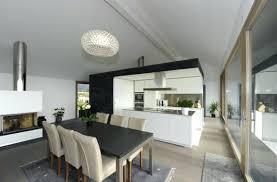 cuisine salle a manger ouverte salon ouvert sur salle a manger tout en nuances cuisine ouverte sur