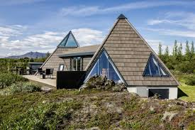stunning pyramid cottage in iceland small house bliss