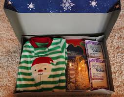 night before christmas box an annual tradition with pajamas