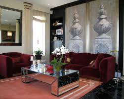 burgundy sofa houzz