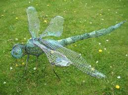 sculpture dragonfly i outsize copper garden statues
