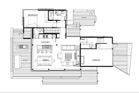 second floor picture plan natural under pohutukawa house in piha