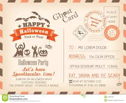 carte d u0027invitation halloween en anglais u2013 fun for halloween