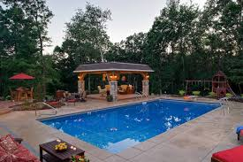swimming pool landsacpe with
