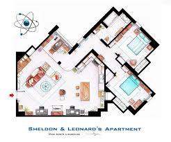 Tv Studio Floor Plan by Floor Plans Of Tv U0027s Best Sitcom Apartments 25 Photos