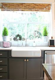 curtains for kitchen in vacation kitchen