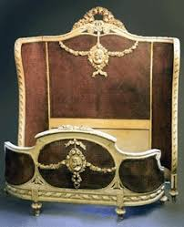 Eloquence One Of A Kind Vintage French Gilt Cane Louis Xvi Style Twin Bed Pair Fantastic Vintage Provincial Bed With Cane Headboard Lovely Worn