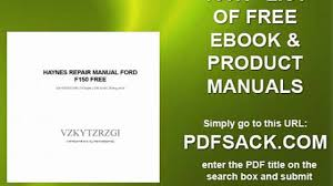 haynes repair manual ford f150 free video dailymotion
