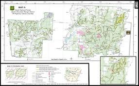 Ouachita Mountains Map Mulberry Mountain Atv Trails Arkansas Ozark Mountains