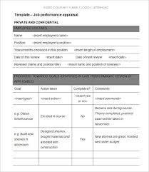 sample performance evaluation hitecauto us