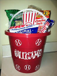baseball gift basket make a baseball easter basket for your baseball fan