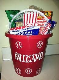 baseball gift basket make a baseball easter basket for your baseball fan