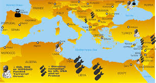 Map Of Mediterranean Europe by Muslim Mass Immigration U2013 The War On Europe U2013 The Enigma Channel