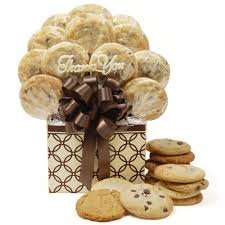 cookie bouquet decorative rings thank you cookie bouquet