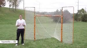diy lacrosse goal frame bar product video youtube backyard your ideas