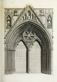 file ornaments in the cathedral church of york 1795