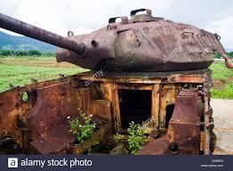 K He Suchen Amerikanischer Panzer Bleibt In Khe Sanh Airbase In Der Dmz Zone
