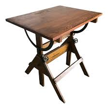 antique drafting table 1920s vintage industrial drafting table bar table writing desk