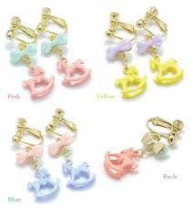 school earrings kids rakuten global market interesting sweet rocking
