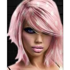 polka dot hair pink polka dots hair polyvore