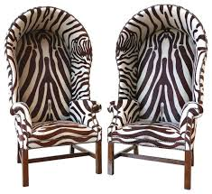 Animal Print Accent Chair Collection In Zebra Print Accent Chair With Butlers Chairs In