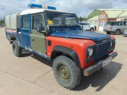 land rover 130 you are bidding on direct from the uk ministry of defence a land