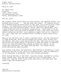 request letter block format cover letter templates