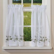 Sheer Embroidered Curtains Floral Curtains Shoptalk By Sturbridge Yankee Workshop