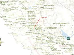 Map Of Napa Valley Plodding In Paradise Wine Country The Allure
