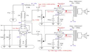 diy 6v6 se ul tube amplifier schematic lacewood
