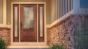 Steel Vs Fiberglass Exterior Door Fiberglass Vs Wood Door Cost Therma Tru Home Depot Entry With One