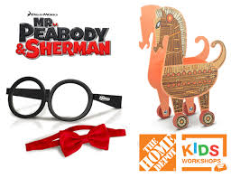 free depot kids workshop peabody u0026 sherman giveaway