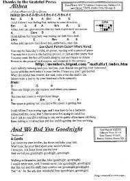 Lay Me Down On A Bed Of Roses Lyrics Grateful Ramblings Grateful Dead Lyrics U0026 Chord Database Grateful