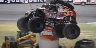 monster truck video for video here s five finger death punch s zoltan bathory rolling a