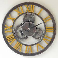 horloges cuisine 14 pouce silencieux vitesse en bois horloge murale designs ronde