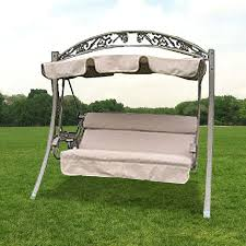 Swings For Patios With Canopy Replacement Canopy Arched Frame Swing 487800 Garden Winds