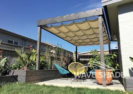 Retractable Pergola Awning by Retractable Pergola Cover 12 Jpg