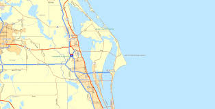 Port Canaveral Map Borders