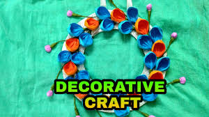 How To Make Home Decorative Things by How To Make Decorative Items With Paper At Home Youtube