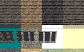 Roof Tile Colors How To Choose The Color Of Roofing Shingles 8 Steps