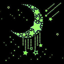 Star Decals For Ceiling by Luminous Wall Sticker Home Decor Glow In The Dark Star Decal Baby