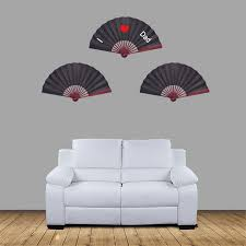 Large Oriental Wall Fans by Amazon Com Metable Large Black Silk Folding Fan Chinese Style Men