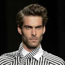 a side part with long hair and a swoop and a cross how to get the perfect side parting the idle man